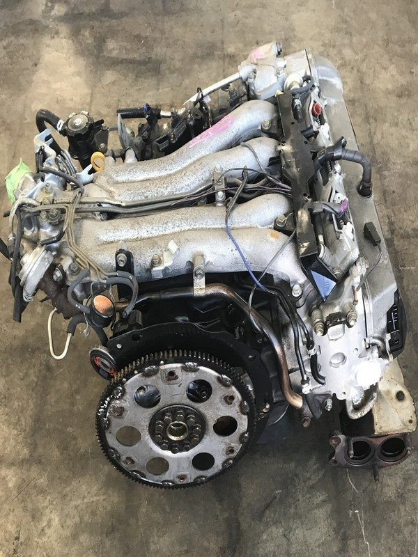 JDM Toyota Previa Supercharged 2TZE engine