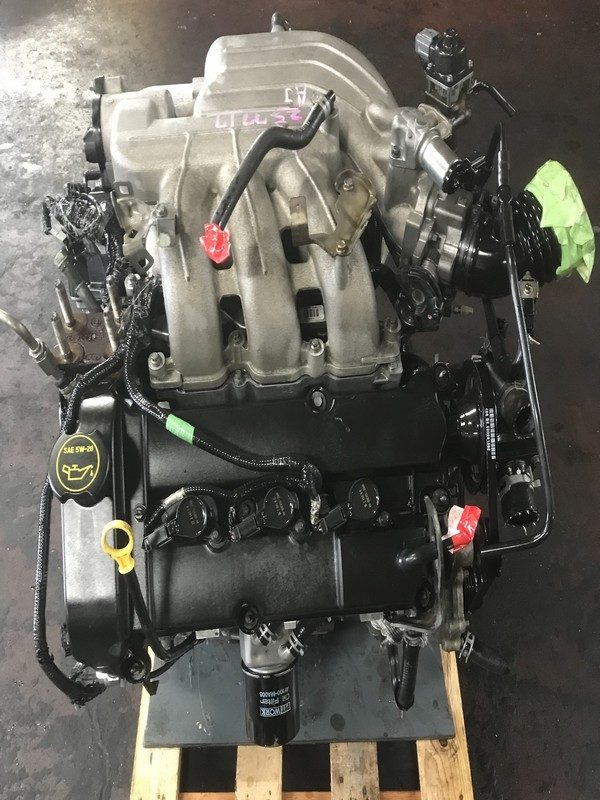 JDM Mazda MPV AJ engine