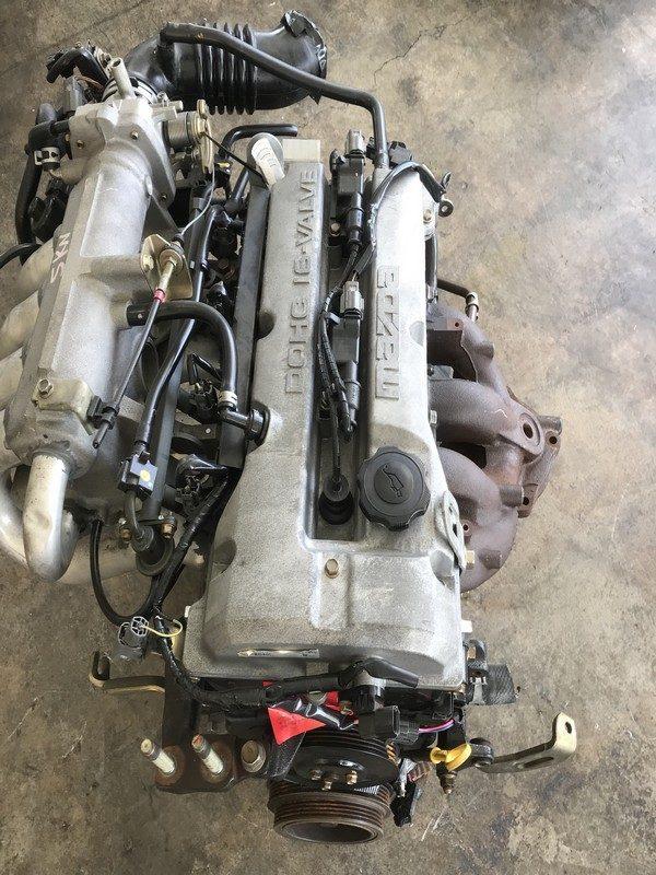 Mazda Protege ZL FWD 1.5L engine
