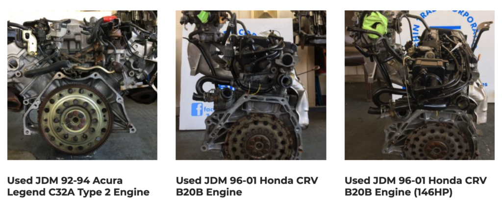 Looking for Used Engines in Los Angeles? Consider an JDM Engine